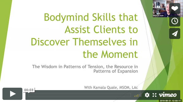 bodymind skills training video with kamala quale moon and lotus