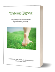 walking qigong book by Kamala Quale acupuncture moon and lotus